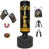 VIPER Boxing Free Standing Punch Bag Heavy Duty Martial Arts MMA Men Women Kids Girls Boys Children