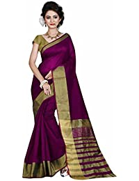 Indian Fashionista Women's Cotton Saree With Blouse Piece (Mhvr145-1740-4_Red)