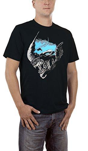 Touchlines Alien Nostromo, T-Shirt Uomo, Black 13, XXXXX-Large