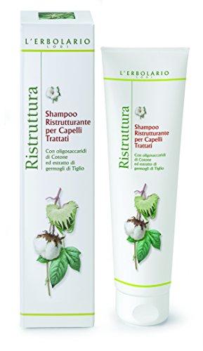 L'Erbolario Ristruttura Repair Shampoo für behandeltes Haar, 1er Pack (1 x 150 ml)