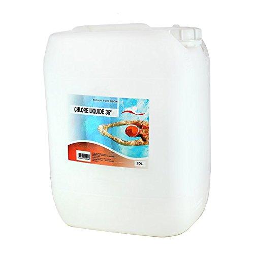 Chlore liquide - 20 L de marque Swimmer - Catégorie Produits chimiques