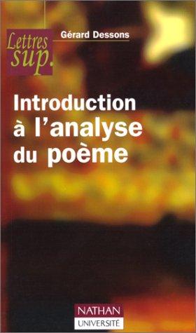 Introduction  l'analyse du pome