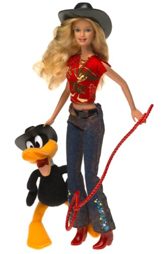 Barbie - Looney Tunes - Barbie loves Duffy Duck - aus USA -