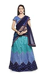 Clickedia Womens Art Silk Lehenga Cholis Lehenga Choli (Blue)
