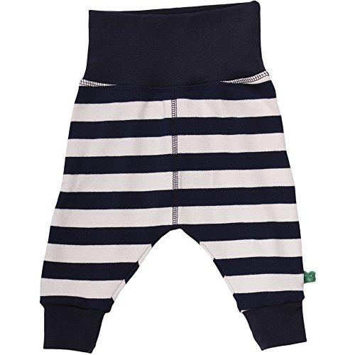 Fred's World by Green Cotton Baby-Jungen Hose Wide Stripe Pants Blau (Navy 019392301) 86