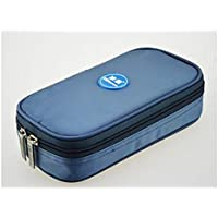 Alger Insulin-kühler Beutel-Diabetes-Manager-tragbarer medizinischer Reise-Kühlschrank 20 * 10 * 4cm, Gray preisvergleich bei billige-tabletten.eu