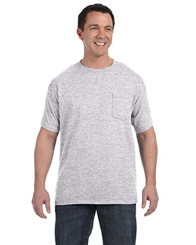 Hanes Tagless? Men`s Pocket T-Shirt