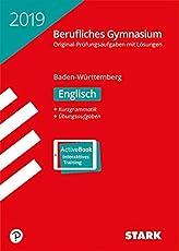 Abiturprüfung Berufliches Gymnasium - Englisch - BaWü