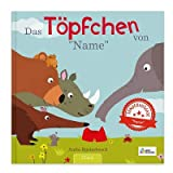 YourSurprise Personalisiertes Kinderbuch:Das Töpfchen von..., Personalisiertes Kinderbuch mit Namen Softcover