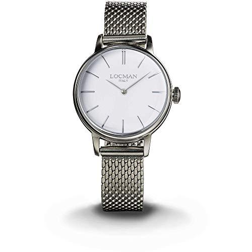 orologio solo tempo donna Locman 1960 casual cod. 0253A08A-00WHNKB0