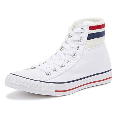 Converse, CTAS Classic White 164658C, Sneaker für Damen, 38 -