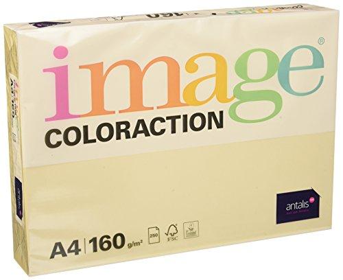 Image Coloraction - farbiges Kopierpapier Dune/Creme 160g/m² A4 - Paket zu 250 Blatt