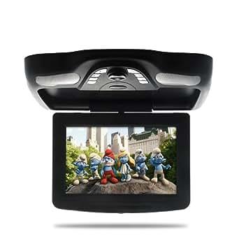 SHOPINNOV Lecteur DVD Plafonnier de voiture noir 10,2 pouces