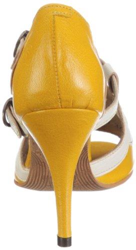 Fly London BENZ 1PD142157 Damen Pumps Gelb (yellow/offwhite 000)