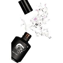 Esmaltado Permanente Peel Off Gel Polish UV Crisp NAIL-EON, Negro Blanco Púrpura, 15 ml, de baja viscosidad, transparente, colorido, UV adecuada, LED adecuada, sin ácido