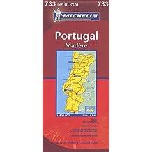 Carte routière : Portugal