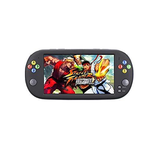 Console de Jeu Portable, Jeu rétro 7 Pouces HD Grand écran rétro nostalgique, Console de Jeu PSP Gba FC Super Mario Fashion Controller