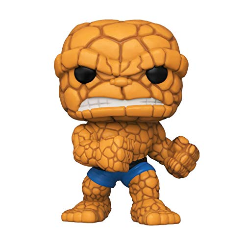 Funko-  Pop Marvel: Fantastic Four- The Thing Collectible Toy,  Multicolor (44988)