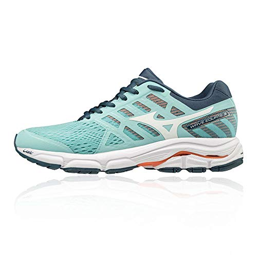 Mizuno Scarpa Running Wave Equate 3 Donna (40 EU, 01 - BlueCuracao/White/BluWingTeal)