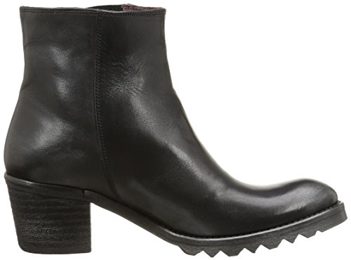 BKR B894 Vit, Boots femme Noir (Black)