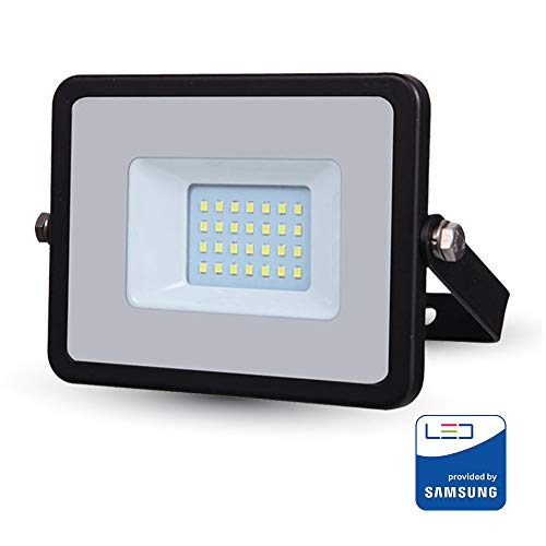 Projecteur LED V-TAC Pro Noir 20 W Samsung Chip Vt-20