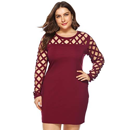 Sommer Sexy Schwarz Fashion Womens Solid Plus Größe Oansatz Kalte Schulter Trägerlos Aushöhlen Brust Kleid Casual Größe 5XL Glamour Satin-heels