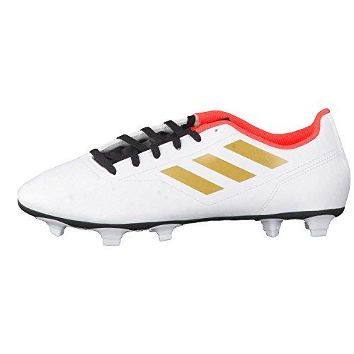 adidas Herren Conquisto II FG Fußballschuhe Elfenbein (Ftwr White/tactile Gold Met. F17/solar Red)