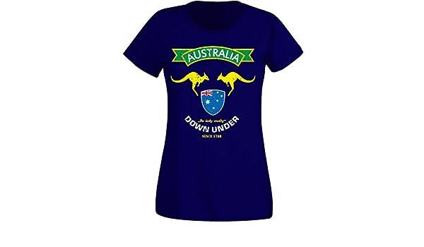 Vegvisir WM 2018 Damen T-Shirt Island navy NC02