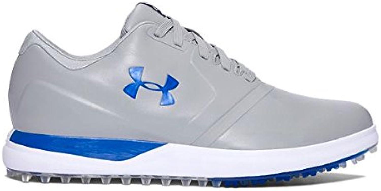 Under Armour rendimiento sin tacos zapatos de golf 1297177: acero/negro/azul marcador – 035: UK 11,5