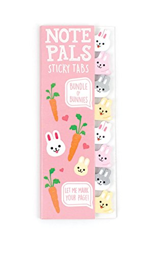 international-arrivals-llc-note-pals-bundle-o-bunnies-sticky-note-pad