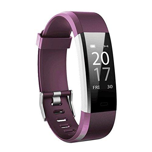 Toksum Boost 2 Slim Fitness Tracker Pulsera Inteligente | Portátil Pantalla táctil...