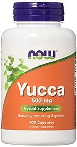 Yucca 500 mg - 100 gelules - Now foods