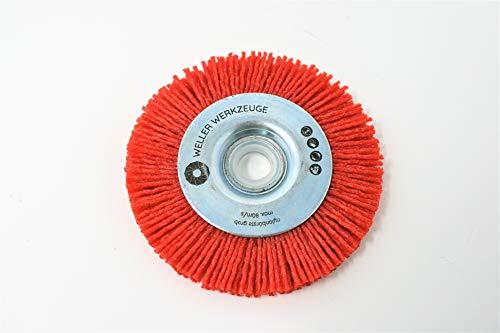 Nylonbürste grob Bürste Reinigungsscheibe passend für Bosch GWS 10,8 12V 76 Zubehör Stahl Edelstahl Holz Würth Berner BTI