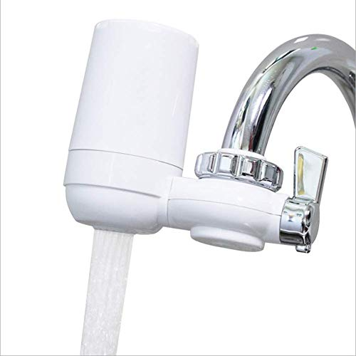Wasserfilter-Wasserhahnmontage-Filter Mit Abwaschbarem Keramik-Filterkern - Geeignet Für Küche Oder Bad Easy Install Austauschbarer Leitungswasserfilter - Arsen-entfernung