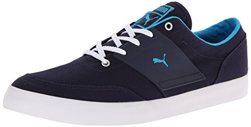Puma El Ace 4 Txt Lace-up Fashion Sneaker Peacoat/Hawaiian Ocean