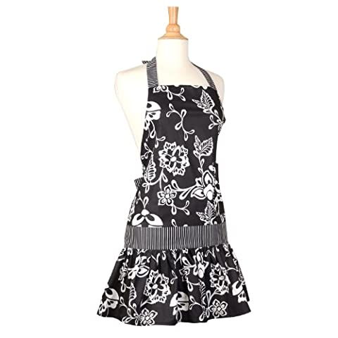 Flirty Aprons Women's Sadie Sassy Black Apron by Flirty Aprons