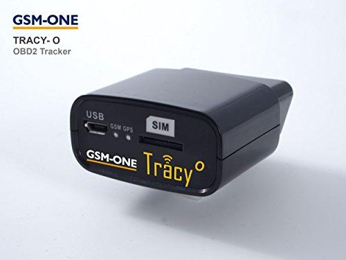 TRACY-O: GPS OBD2 KFZ Tracker. Einfach einstecken und orten.