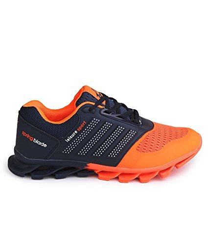 c25e2751889 8% OFF on Vir Sport Air Men s Orange Running Shoes on Amazon ...