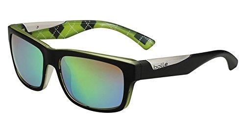 Bollé Sonnenbrille Jude Mat Black/Lime, M