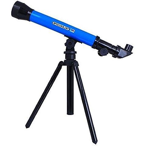 Juguetes Juegos Educativos Telescopio Astronómico Niños Azul