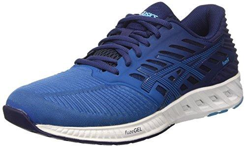 Asics Fuzex, Zapatillas de Deporte para Hombre, Azul (Indigo Blue/Indigo Blue/Thunder Blue), 45 EU