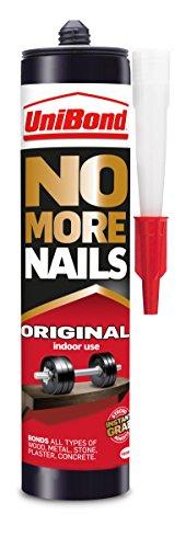 UniBond 1963628 365 g No More Nails Original Cartridge Adhesive