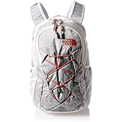 The North Face Jester Mochila para Mujer, Tin Grey Dark(Spiced Coral, One Size