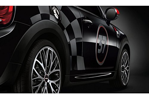 Mini authentique Style côté Rayures 'JCW Pro Racing' transparente Tapis 51142359451