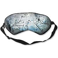 Eye Mask Eyeshade Nature Drawn Sleep Mask Blindfold Eyepatch Adjustable Head Strap preisvergleich bei billige-tabletten.eu