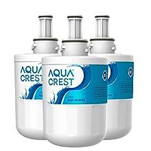 3 x AQUACREST DA29-00003G Filtre à Eau, Remplacement pour Samsung Aqua Pure Plus DA29-00003G, DA29-00003B, DA29-00003A, DA97-06317A, DA61-00159A, HAFCU1/XAA, HAFIN2/EXP, APP100, WSS-1, WF289 (3)