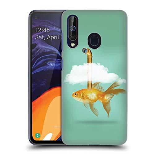 fizielle Vin Zzep Periskop Goldfisch Fisch Harte Rueckseiten Huelle kompatibel mit Samsung Galaxy A60 (2019) ()
