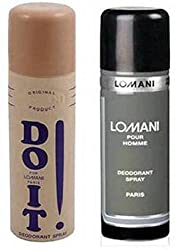 Lomani (Do It And Pour Homme) Deodorant Men 200Ml Body Spray - For Men��(400 Ml, Pack Of 2)