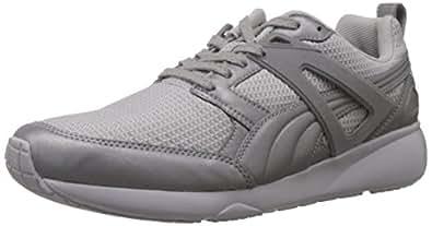Puma Men's Arial Reflective Silver Metallic Running Shoes - 13UK/India (48EU)