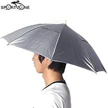 sypure (TM) plegable deportes al aire libre Golf Pesca Caza Camping sol paraguas cubo paraguas sombrero gorra azul
